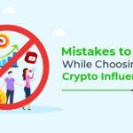 crypto influencer mistakes
