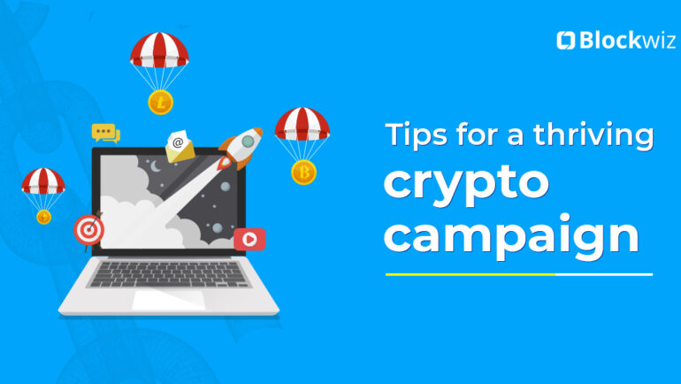 crypto marketing campaign